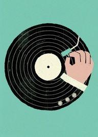 #Vinyle #infographic #vintage