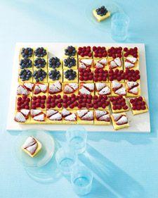Fruited Cheesecake Flag