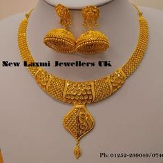 Light weight Gold necklace sets by Nalli Latest Jewellery Designs