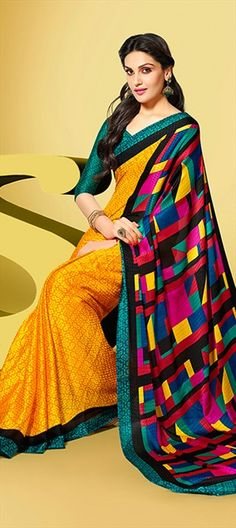 143451: #Lego blocks on your #saree! Have a look here!  #prints #partywear #sale flat 10% off.