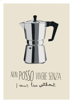 Coffee Maker - Moka coffee caff poster italian icon vintage