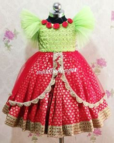 Kids Party Wear Dresses, Kids Dress Wear, Kids Gown, Dresses Kids Girl, Kids Wear, Long Frocks For Kids, Frocks For Girls, Girls Frock Design, Baby Dress Design