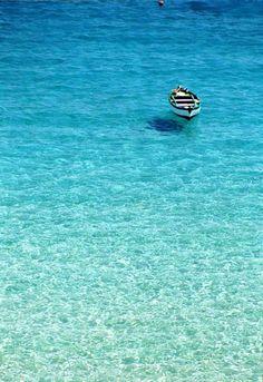 Tremiti: acqua azzurra