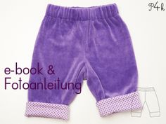 Schnittmuster Baby Hose Fioretto ebook  von pattern4kids - Schnittmuster für Baby- und Kinderkleider als ebook download mit Nähanleitung auf DaWanda.com