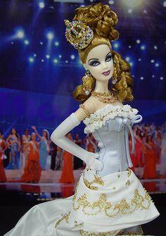 OOAK Barbie NiniMomo's Miss Iceland 2011