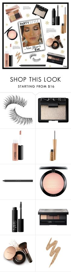 """NYE Beauty"" by marion-fashionista-diva-miller ❤ liked on Polyvore featuring beauty, Trish McEvoy, NARS Cosmetics, MAC Cosmetics, shu uemura, Nude by Nature, Urban Decay, Bobbi Brown Cosmetics and nyebeauty"