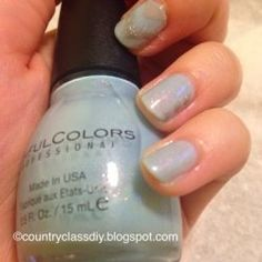 Country Class: Winter Inspired Nailsinter Inspired Nails