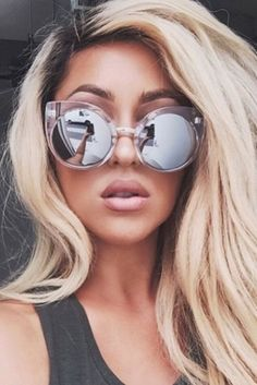 Quay Eyeware China Doll Sunglasses in Clear http://www.thestylemerchant.com.au/quay-eyeware-chinadoll-clear/