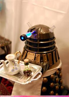 My Dalek will be my butler and bring me tea and cookies
