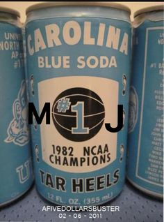 My grandparents had a can of Tar Heel blueberry soda for years. Carolina Pride, North Carolina Homes, University Of North Carolina, Carolina Blue, Unc Chapel Hill, Unc Tarheels, Tar Heels, College Basketball, Way Of Life