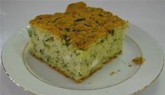 Peynirli Dereotlu Kek Pizza Pastry, Wie Macht Man, Our Daily Bread, Turkish Recipes, Yummy Cakes, Quiche, Banana Bread, Food And Drink, Healthy Recipes