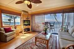 Lahaina Roads #201 with Vacation-Maui.com Ocean Front! Sea Breeze: Maui Vacations: Hawaii Oceanfront Vacation Rentals