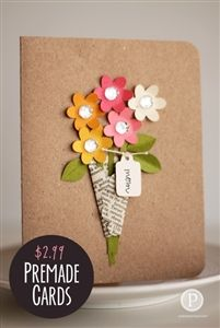 Premade Mother's Day Cards $2.99