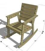 Porch Rocker, rocking chairs,porch rockers,outdoor furniture,diy,free ...