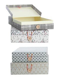 Organiser boxes