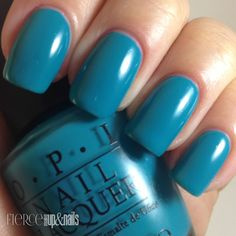Fierce Makeup and Nails: OPI: Taylor Blue for Taylor's Gift