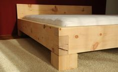 Check out our information site for way more all about this terrific bedroom furniture nightstands Bed Frame Design, Bedroom Bed Design, Diy Bed Frame, Timber Beds, Wood Beds, Woodworking Bed, Woodworking Projects, Cama Design, Diy Furniture