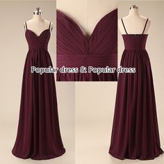 party dress Cheap Bridesmaid Dresses/Deep V-neck Bridesmaid Dress/Sexy Prom Dress/Burgundy  Long Prom Dress/Prom Dress/A014 door populardress op Etsy https://www.etsy.com/nl/listing/210506330/party-dress-cheap-bridesmaid-dressesdeep