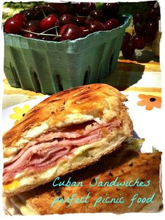 Cuban Sandwich is perfect to take on a picnic! #vendemmia