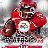 NCAA Football 13 – Utah Custom Covers – John White IV GO UTES!