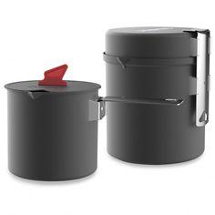 Primus Trek Pot Set - Pot | Free UK Delivery | Alpinetrek.co.uk Pot Sets, Aluminium, Trek, This Or That Questions, Free Uk, Delivery, Products, Color Black, Gadget