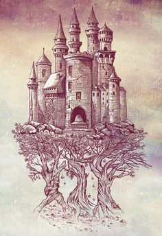 """if we could create """"Castle in the Trees"""" by Rachel Caldwell ... my son would probably want to live there :)"""