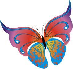 Mariposas y libélulas