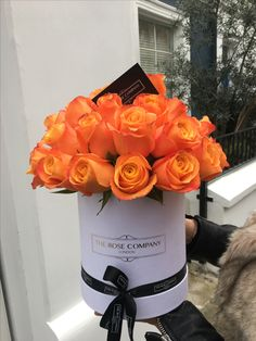 roses in a box - The rose company London