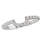The a universally accepted standard to diamond grading. Learn about the cut, color, clarity, carat weight. Curved Wedding Band, Wedding Bands, Diamond Bands, Unique Rings, Diamond Engagement Rings, Color, Jewelry, Colour, Jewellery Making