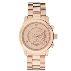 Michael Kors Chronograph Rose Golden Watches