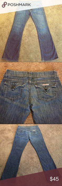 "Hudson Jeans Size 31 Size 31, Inseam 32"", Rise 8 1/2"", Bootcut 9"" Leg Opening, EUC Hudson Jeans Jeans Boot Cut"