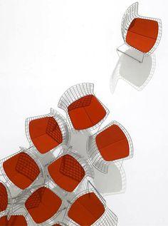 Harry Bertoia Side Chairs KNOLL http://decdesignecasa.blogspot.it/ Ley de agrupamiento
