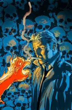 John Constantine by Sean Phillips. Constantine Comic, Constantine Hellblazer, Hellblazer Comic, Matt Ryan Constantine, Nightwing Young Justice, Nightwing And Starfire, Comic Books Art, Comic Art, Nightwing Costumes