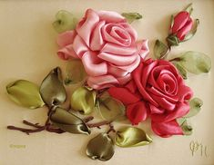 Embroidery #ribbon embroidery  #afs collection