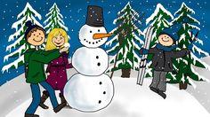 Weihnachtslieder deutsch - Schneeflöckchen, Weißröckchen