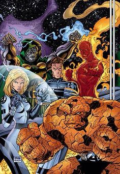fantastic four. Jim Lee