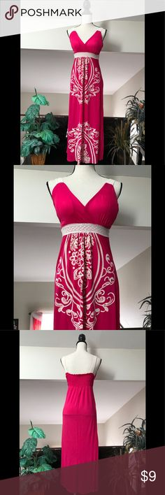 👗Maxi Dress👗 Cute Maxi Dress in good condition. Perfect for the summer. Size L Just Love Dresses Maxi