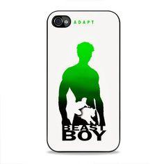 Beast Boy Silhouette iPhone 4, 4s Case