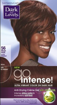 Dark and Lovely Go Intense! Hair Color, No.56, Magic Plum 1 ea (Pack of 12) *** You can find more details by visiting the image link.