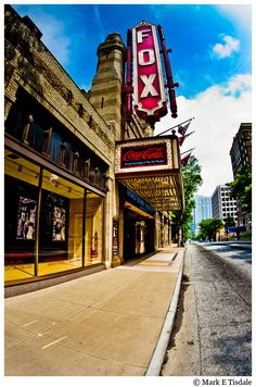 "The Fox Theatre has been named a ""Venue that Rocks"" by Rolling Stone Magazine!"