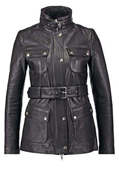 e4d3cc39 New Women Genuine Real Leather Jacket Ladies Slim Fit Biker Coat LFWN614