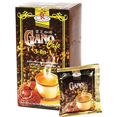 3 Boxes Coffee Gano Excel 3 in 1 Ganoderma Lucidum Café. I am an Authorized Gano Excel Distributor. For an unbeatable aroma, pour boiling water into a cup of Ganocafe 3 Coffee sachet) mix and stir. Coffee Cafe, V60 Coffee, Coffee Shop, Coffee Effects, Healthy Cafe, Non Dairy Creamer, Instant Coffee, Root Beer, Gourmet Recipes