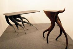 Tentacle tables!  By Chul An Kwak.  Fun fact: looks like tentacles, actually inspired by running horses.  Who knew?