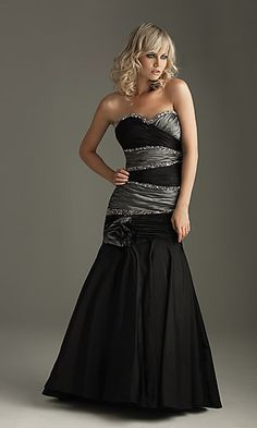 My black and silver prom dress. I am still in love with it . . . . I Love Love LOVE This Dress ( :