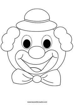 Clown Crafts, Circus Crafts, Carnival Crafts, Circus Birthday, Circus Theme, Circus Party, Art For Kids, Crafts For Kids, Arts And Crafts