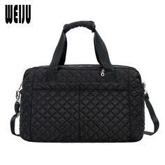 WEIJU 2017 New Luggage Bag Female Hand Travel Bag Women Large Capacity  Simple Men Travel Bags Shoulder Bags Price history. b71ae716ddcb0