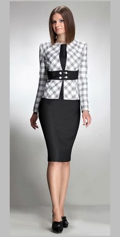 New Arrival 2014 Spring Fashion Women Skirt Suits Blazers Formal ...