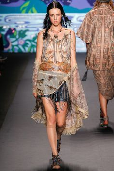 Anna Sui Spring 2014 Ready-to-Wear Collection Slideshow on Style.com