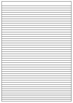 papier à lettre ligné | trouver modele ligne pour ecrire une