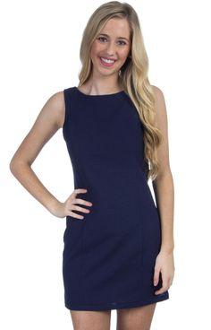 The Harper Solid Seersucker Dress